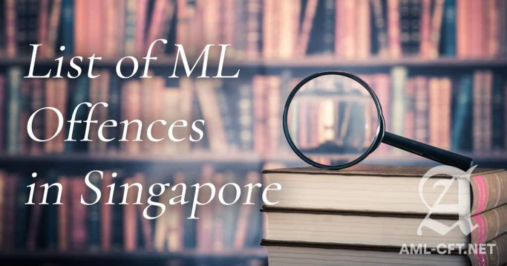 ML Offences in SG